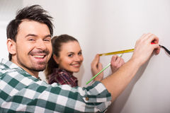 Repair home Stock Photography