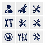 Repair icon Stock Images