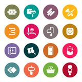 Repair icon set Stock Photography
