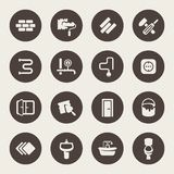 Repair icon set Royalty Free Stock Photos