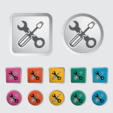Repair icon. Vector illustration EPS Stock Images