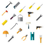 Repair icons set. Royalty Free Stock Images