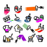 Repair Icons. Vector illustration Stock Photo