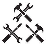 Repair icons Royalty Free Stock Image