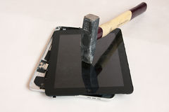 Repair iPad Stock Photo