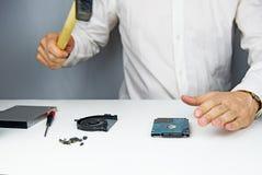 Repair laptop Stock Image