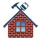 Repair and maintenance of house Royalty Free Stock Photo