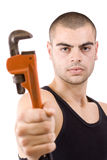 Repair man Stock Image