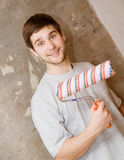 Repair man Royalty Free Stock Image