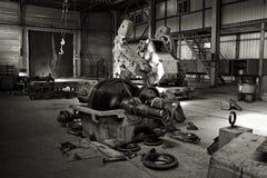 Repair of oil equipment. Stock Image