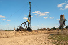 Repair oil pump Stock Image