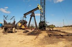 Repair oil pump Stock Images