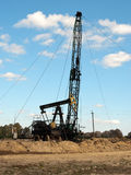Repair oil pump Royalty Free Stock Photos