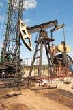 Repair oil pump Royalty Free Stock Image