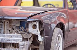 Repair of the old car Royalty Free Stock Images