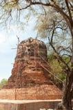 Repair old pagodas Royalty Free Stock Images
