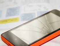 Repair the phone Stock Images