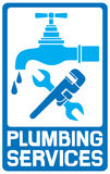 Repair plumbing symbol Stock Photos