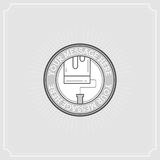 Repair Project. Flat Illustration Set of Line Modern Icons Stock Images