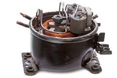 Repair refrigerator compressor Stock Images