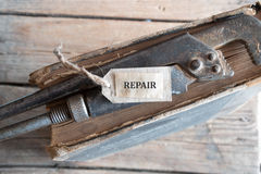 Repair School concept. Stock Image