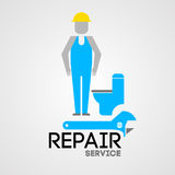 Repair service Royalty Free Stock Images