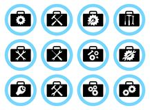 Repair Service Concept. Simple Icons Set: Wrench, Screwdriver, Hammer And Gear. Services Icon Or Button Isolated On Royalty Free Stock Photo