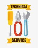 Repair service design Stock Photography
