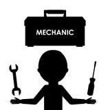 Repair service. Design, vector illustration eps10 graphic Stock Image