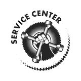Repair service logo Stock Photos
