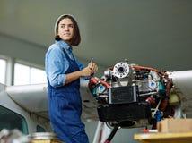 Repair service worker Stock Images
