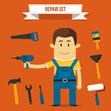 Repair set Stock Image