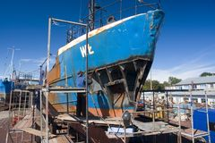Repair shipyard Stock Images