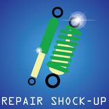 Repair shock up Stock Photography
