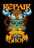 Repair shop Stock Images