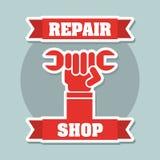 Repair shop Stock Image
