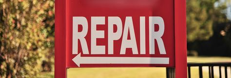 Repair Shop and Service Center Royalty Free Stock Images