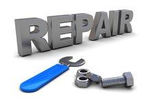 Repair sign Stock Image