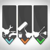 Repair symbol Royalty Free Stock Images