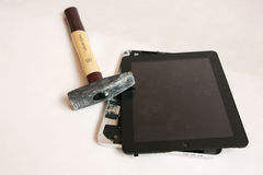 Repair tablet Stock Photography