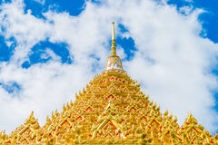 Repair Temple gate thai. Repair Temple gate pattern on the Temples in Thailand Stock Photo