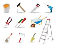 Repair and tools Royalty Free Stock Photo