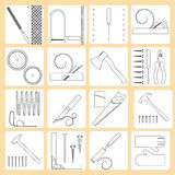 Repair tools. Royalty Free Stock Images