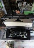 Repair typewriter Royalty Free Stock Images