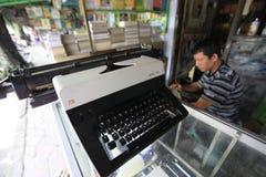 Repair typewriter Royalty Free Stock Photo
