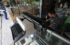 Repair typewriter Royalty Free Stock Photos