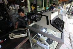 Repair typewriter Royalty Free Stock Image