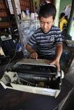 Repair typewriter Stock Photography