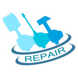 Repair vector Royalty Free Stock Image
