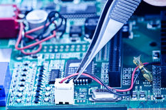 Repair videocard Stock Photography